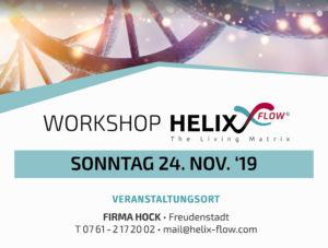 Freudenstadt. , Firma Hock, Helix Flow, Edo Hemar, Schwingungen, Workshop
