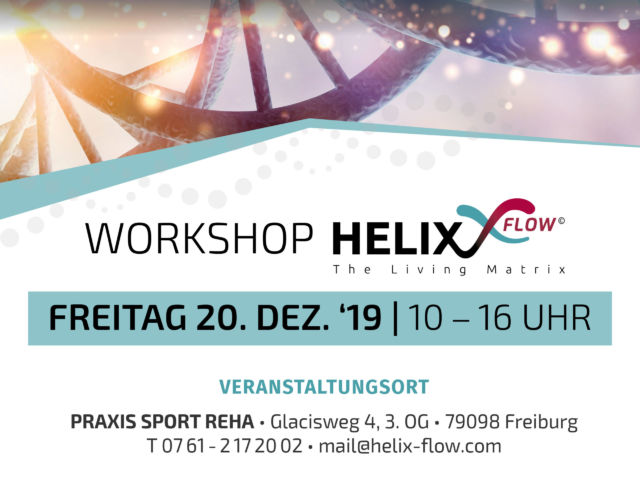Helix-Workshop, Freiburg, Sport Reha,